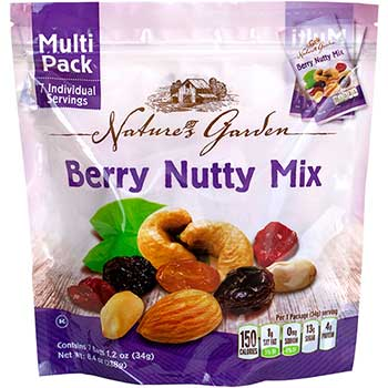Berry Nutty Mix Multipack, 7 Count Bag, 6 BG/PK