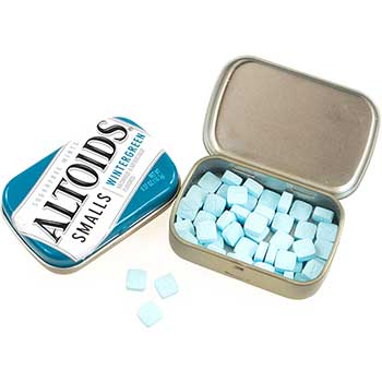Altoids® Smalls Sugar Free Wintergreen Mints, 0.37 oz., 9/PK