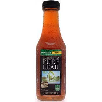 Pure Leaf® Pure Leaf Tea, Unsweetened Lemon, 18.5 oz., 12/CS