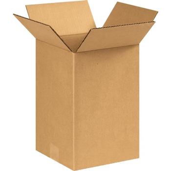 """W.B. Mason Co. Corrugated boxes, 9"""" x 9"""" x 12"""", Kraft, 25/BD"""