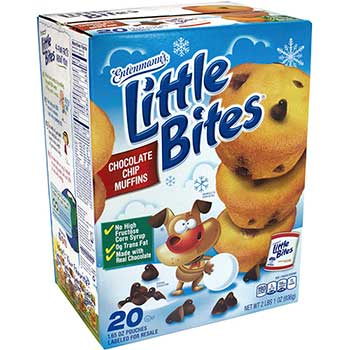 Entenmann's® Little Bites Chocolate Chip Muffins, 20/CS