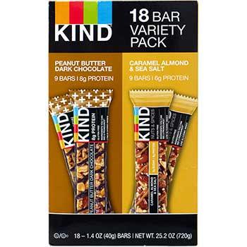 Bar Variety Pack, 1.4 oz., 18/BX