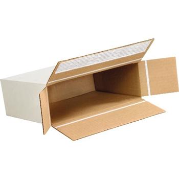 """W.B. Mason Co. Self-Seal Side Loading boxes, 9 1/4"""" x 3"""" x 6 3/4"""", White, 25/BD"""