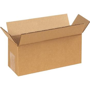 """Corrugated boxes, 9"""" x 4"""" x 3"""", Kraft, 25/BD"""