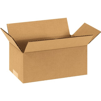 "W.B. Mason Co. Corrugated boxes, 9"" x 4"" x 4"", Kraft, 25/BD"
