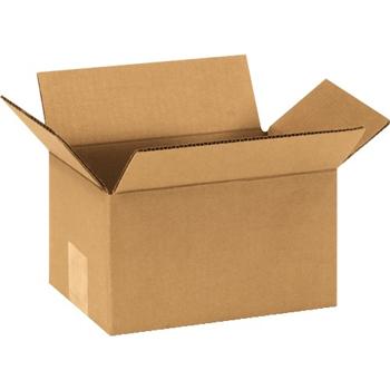 """W.B. Mason Co. Corrugated boxes, 9"""" x 6"""" x 5"""", Kraft, 25/BD"""
