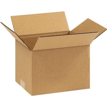 """Corrugated boxes, 9"""" x 7"""" x 6"""", Kraft, 25/BD"""