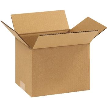 """W.B. Mason Co. Corrugated boxes, 9"""" x 7"""" x 7"""", Kraft, 25/BD"""
