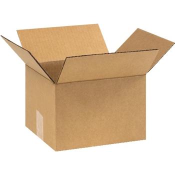 """W.B. Mason Co. Corrugated boxes, 9"""" x 8"""" x 6"""", Kraft, 25/BD"""