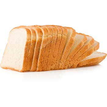 W.B. Mason Co. White Bread, 2/PK
