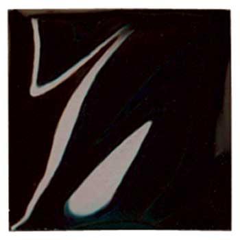 Amaco® Low Fire Cone 05 Semi-Opaque Gloss Glazes, Jet Black, 1 pint