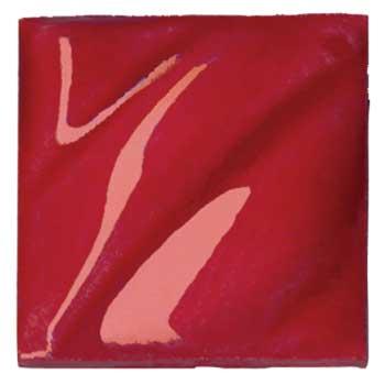 Amaco® Lead Free Translucent (LG) Gloss GlazesCone 05, Intense Red, 1 pint