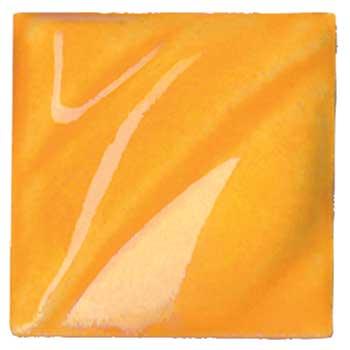 Amaco® Lead Free Translucent (LG) Gloss GlazesCone 05, Vivid Orange, 1 pint
