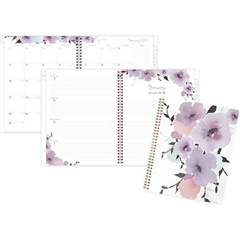"Cambridge® Mina Weekly/Monthly Planner, 8 1/2"" x 11"", 2021"