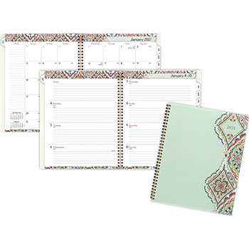 "AT-A-GLANCE® Marrakesh Professional Weekly/Monthly Planner, 9 1/4"" x 11 3/8"", 2021"