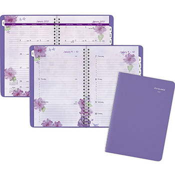 """AT-A-GLANCE® Block Format Beautiful Day Weekly/Monthly Appt. Book, 4 7/8"""" x 8"""", 2022"""