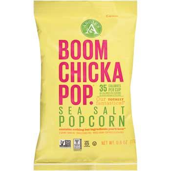 Boomchickapop® Sea Salt Popcorn, 0.6 oz., 24/CS