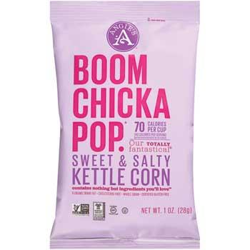 Boomchickapop® Sweet & Salty Kettle Popcorn, 1 oz., 24/CS