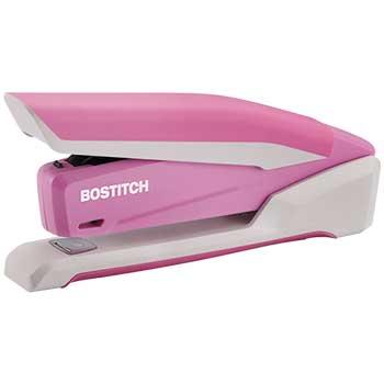 PaperPro® inCOURAGE 20 Desktop Stapler, 20-Sheet Capacity, Pink/White