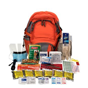 First Aid Only™ Emergency Preparedness First Aid Backpack, 63 Pieces/Kit
