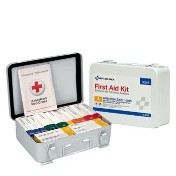 First Aid Only™ Unitized ANSI-Compliant First Aid Kit for 25 People, 84 Pieces