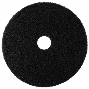 "ACS Cleaning Products Group Stripping Floor Pad, 20"", Black, 5/Carton"