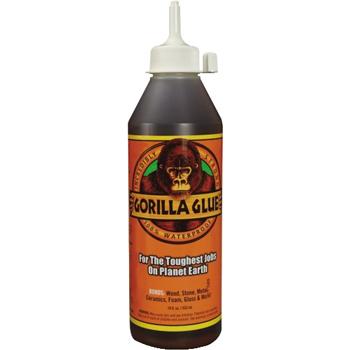 Gorilla Glue® Glue, 18 oz., Light Tan, 1/CS