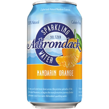 Seltzer Water, Mandarin Orange, 12 oz., 24/CS