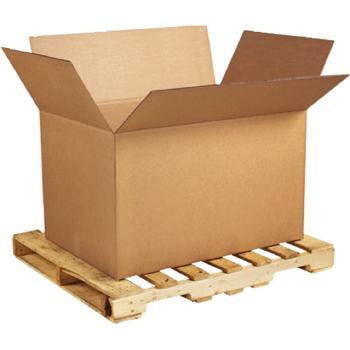 """W.B. Mason Co. Double Wall Corrugated boxes, 41"""" x 28 3/4"""" x 25 1/2"""", Kraft, 5/BD"""