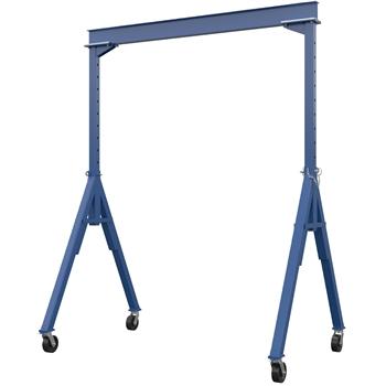 "Vestil Gantry Crane, Adjustable Height, Steel, 10"" x 14"", 6000 lb. Capacity"