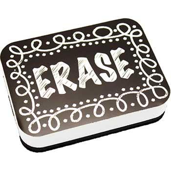 Ashley Magnetic Whiteboard Eraser, Chalk Loop