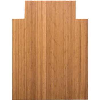 "Anji Mountain Roll-up Traditional Bamboo Chair Mat, 36"""" x 48"""", Natural Finish"