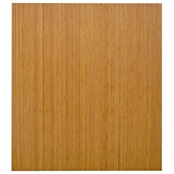 "Anji Mountain Bamboo Chair Mat, RollUp, 48"" x 42"", No Lip, Natural"