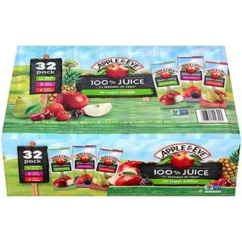 Juice Variety Pack, 200 ml., 32/PK