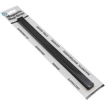 Magnetic Magi-Strips, Black, 12/PK
