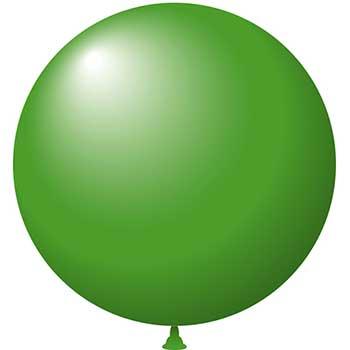 """W.B. Mason Auto Supplies Latex Balloons, 17"""", Green, 72/BG"""