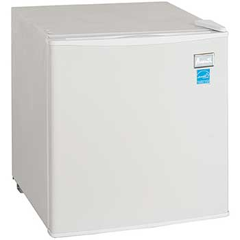 Avanti Refrigerator with Reversible Door, White, 1.7 cu. ft.