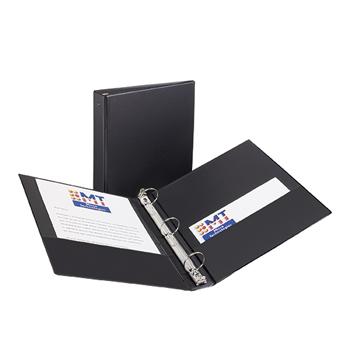 "Avery® Economy Binder, 1 1/2"" Round Rings, 275-Sheet Capacity, Black"