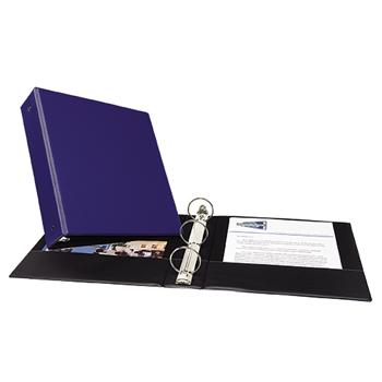 "Avery® Economy Binder, 2"" Round Rings, 375-Sheet Capacity, Blue"