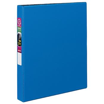 """Durable Binder, 1"""" Slant Rings, 220-Sheet Capacity, DuraHinge®, Blue"""