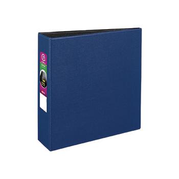 "Avery® Durable Binder, 3"" Slant Rings, 600-Sheet Capacity, DuraHinge®, Blue"