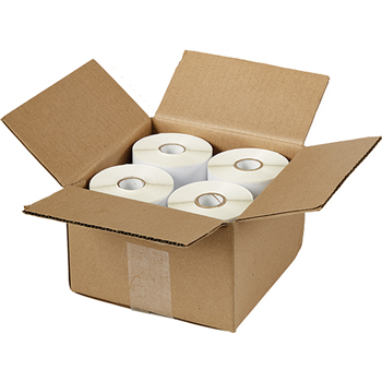 "Shipping Labels for Dymo® and Zebra® Printers, Permanent Adhesive, 4"" x 6"", 880/BX"