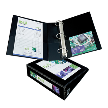 """Avery® Framed View Binder, 3"""" One-Touch EZD® Rings, 670-Sheet Capacity, Black"""