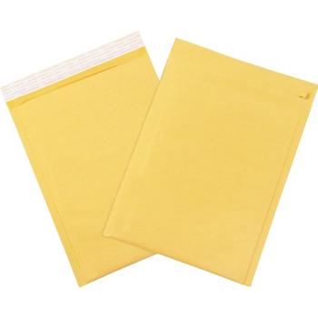 "W.B. Mason Co. Self-Seal Bubble Mailers w/Tear Strip, #5, 10 1/2"" x 16"", Kraft, 100/CS"