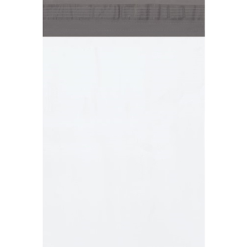 "Poly Mailers, 10"" x 13"", White, 100/CS"