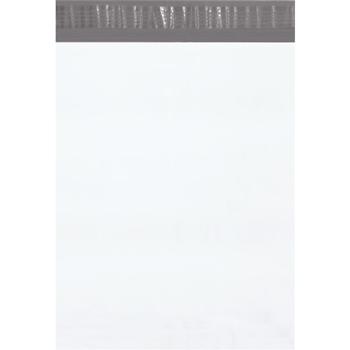 "W.B. Mason Co. Poly Mailers, 12"" x 15 1/2"", White, 100/CS"