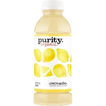 Purity Organic® Juice, Lemonade, 16.9 oz., 12/CS