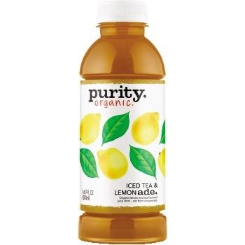 Purity Organic® Juice, Half & Half, 16.9 oz., 12/CS