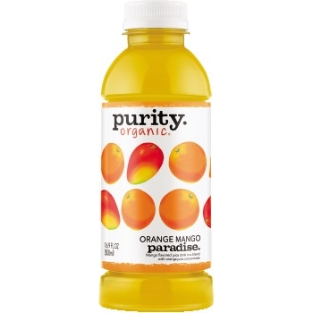 Purity Organic® Juice, Orange Mango, 16.9 oz, 12/CS