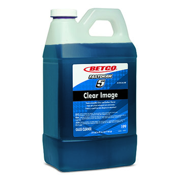Betco® FastDraw® Clear Image Non-Ammoniated Glass & Surface Cleaner, 67.6 oz. Refill Bottle, Grape Scent, 4/CT